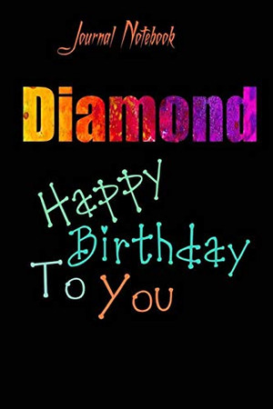 Diamond: Happy Birthday To you Sheet 9x6 Inches 120 Pages with bleed - A Great Happy birthday Gift