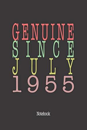 Genuine Since July 1955: Notebook