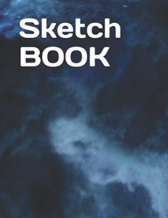 Sketch Book: Notebook for Drawing, Writing, Painting, Sketching or Doodling, 120 Pages, 8.5x11 (Premium Abstract Cover)