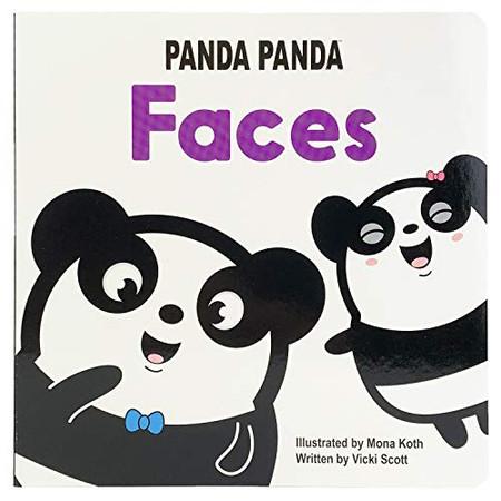 Faces: Panda Panda Board Book (Learning Face Parts Baby to Toddler) (Panda Panda Board Books)