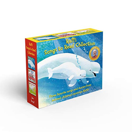 Raffi Songs to Read Boxed Set: Baby Beluga; Wheels on the Bus; Down by the Bay