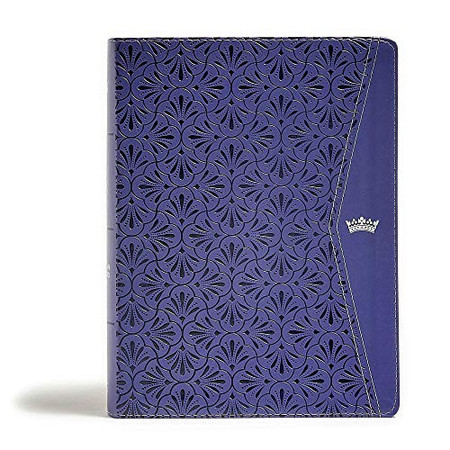 CSB Tony Evans Study Bible, Purple LeatherTouch, Indexed, Black Letter, Study Notes and Commentary, Articles, Videos, Ribbon Marker, Sewn Binding, Easy-to-Read Bible Serif Type