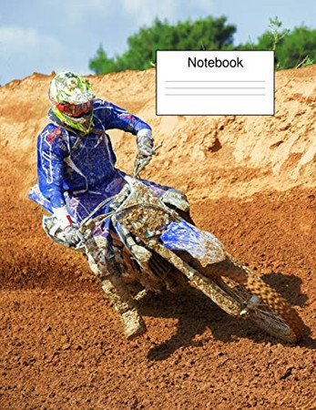 Motorcross Track Notebook