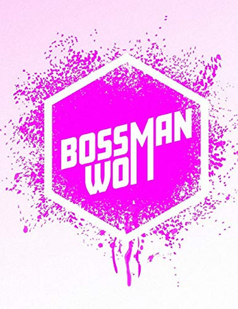 Boss Woman: Feminist Sheet Music: Pink Splatter