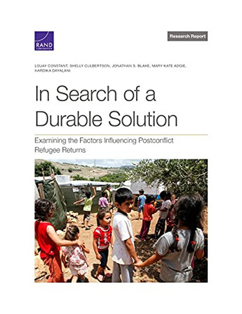 In Search Of A Durable Solution: Examining The Factors Influencing Postconflict Refugee Returns