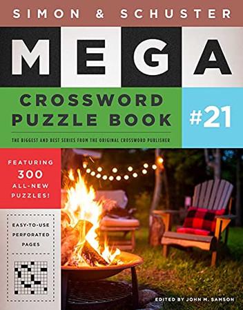 Simon & Schuster Mega Crossword Puzzle Book #21 (21) (S&S Mega Crossword Puzzles)
