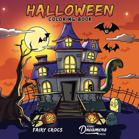 Halloween Coloring Book: For Kids Ages 4-8, 9-12 (Coloring Books For Kids)