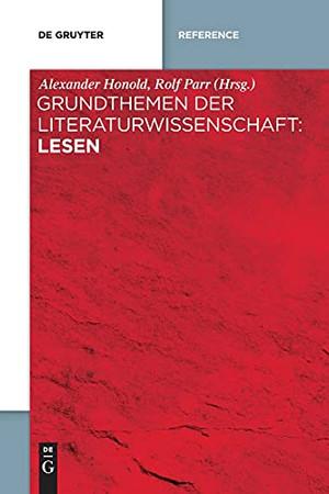 Grundthemen Der Literaturwissenschaft: Lesen (German Edition)