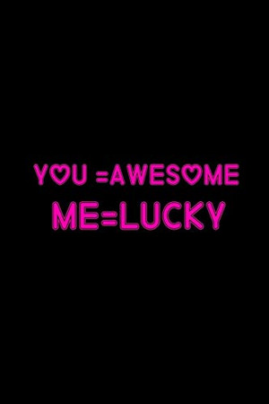 YOU AWESOME ME LUCKY: Love notebook For Girlfriend,Boyfriend,Husband,Wife -Marrigeday Gift for Husband and Wife