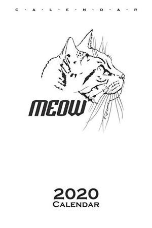 pussycat Calendar 2020: Annual Calendar for Cat and animal lovers