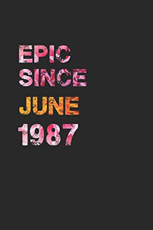 EPIC SINCE JUNE 1987: Awesome ruled notebook