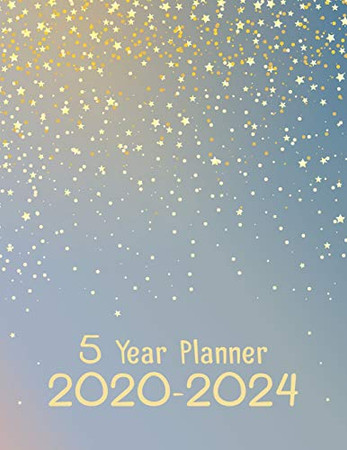 5 Year Planner 2020-2024: 60 Month Yearly Planner Monthly Calendar V1