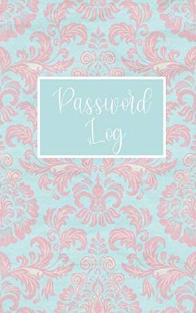 Password Log: Password book with alphabetical tabs