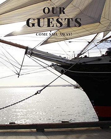 Nautical Guest Book classic ship's bow
