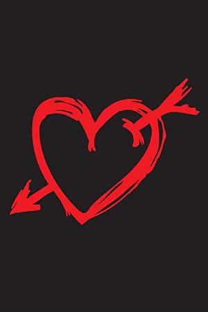 Notizbuch: Notebook - Notebook Valentine's Day, Notebook Valentine's Day, Gift Valentine's Day, Gift girlfriend, Notebook girlfriend, Notebook heart