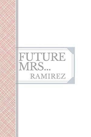 RAMIREZ: Future Mrs Ramirez: 90 page sketchbook 6x9 sketchbook