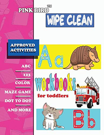 wipe clean workbooks for toddlers: Write-On Wipe-Off Fun to Learn Activity Books