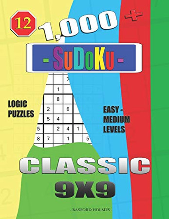 1,000 + Sudoku Classic 9x9: Logic puzzles easy - medium levels (Daily sudoku)