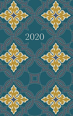 2020 Planner: 2 days per page • Planner • Journal • Diary • Deep Turquoise
