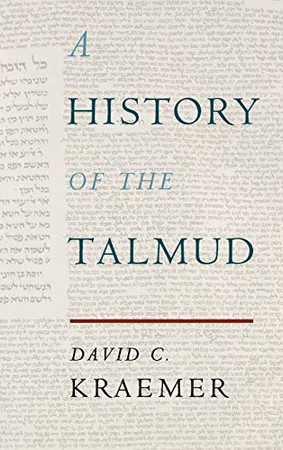 A History of the Talmud