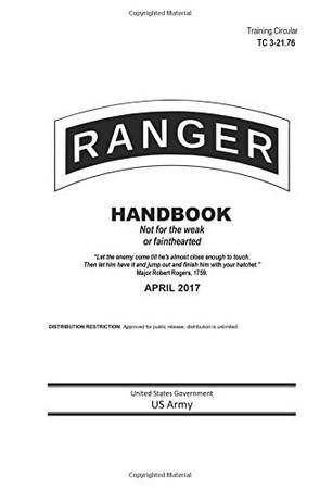 Training Circular TC 3-21.76 Ranger Handbook April 2017