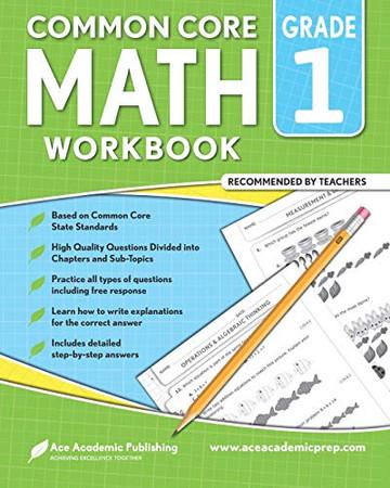1st grade Math workbook: CommonCore Math Workbook