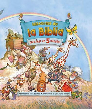 Historias de la Biblia para leer en 5 minutos / The Little Childrens Bible StoryBook (Spanish Edition)
