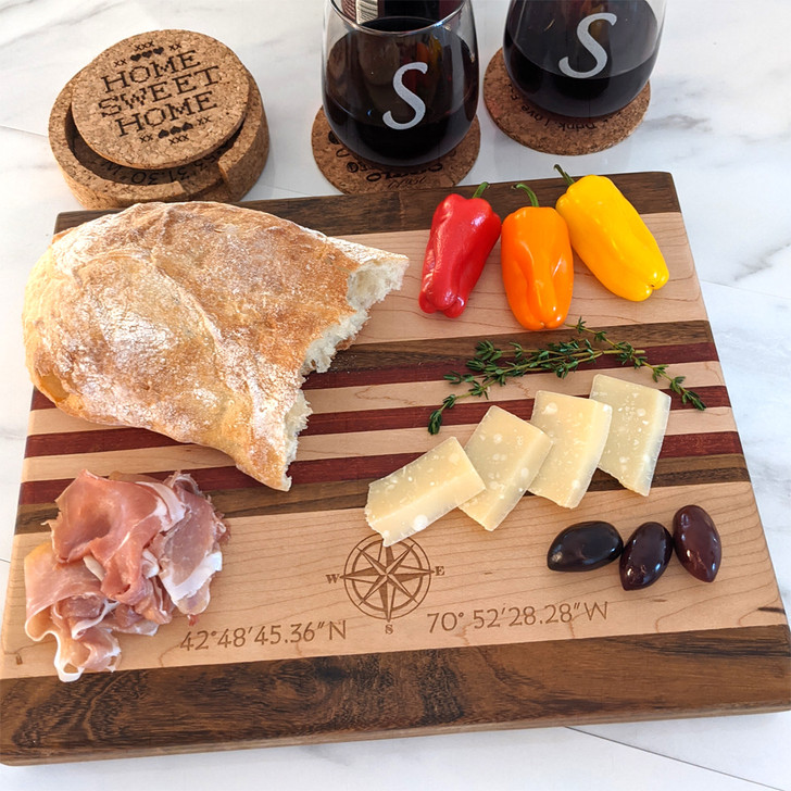 Large Cutting Board with Client Personalization