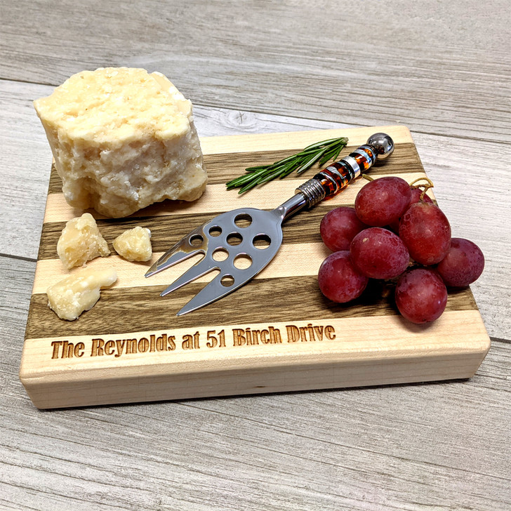 Cheese Board & Knife Set with Client Personalization