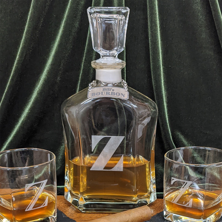 Decanter with Client Personalization