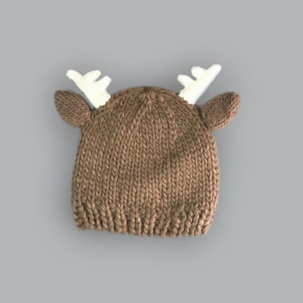 The Blueberry Hill Hartley Deer Tan Knit Hat