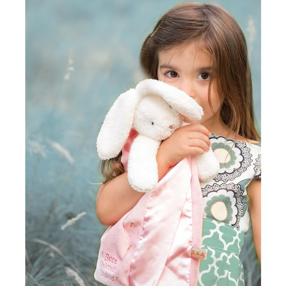 Bunnies by the Bay Blossom Bunny Buddy Blanket