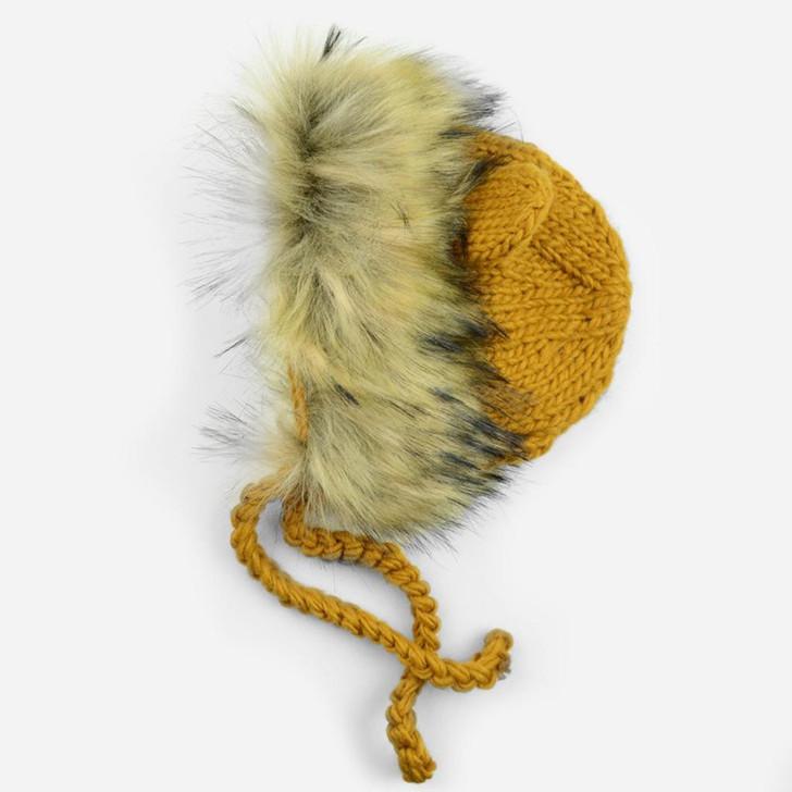 The Blueberry Hill Lennon Lion Bonnet   Pumpkin