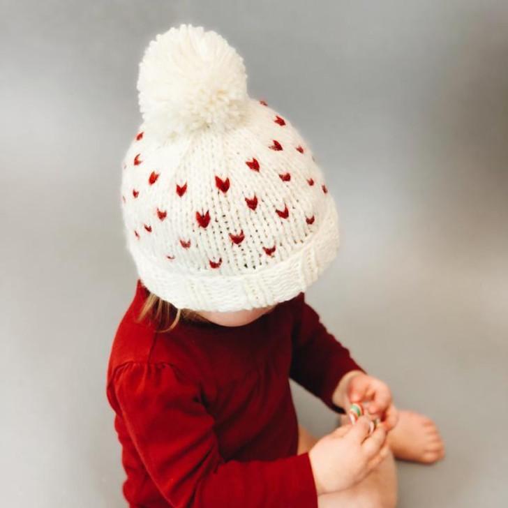 The Blueberry Hill Sawyer Tiny Hearts Beanie