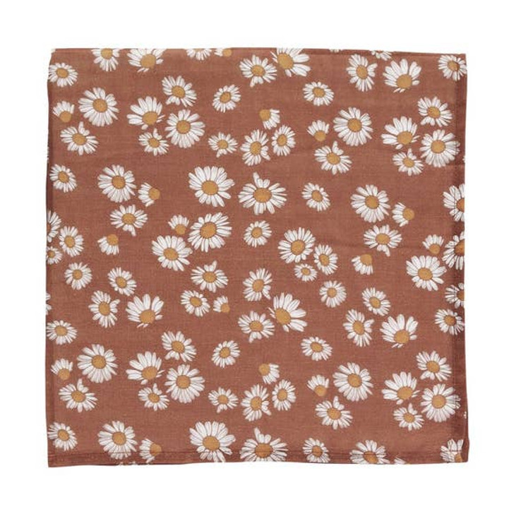 Muslin Swaddle | Clay Brown | Mini Scout