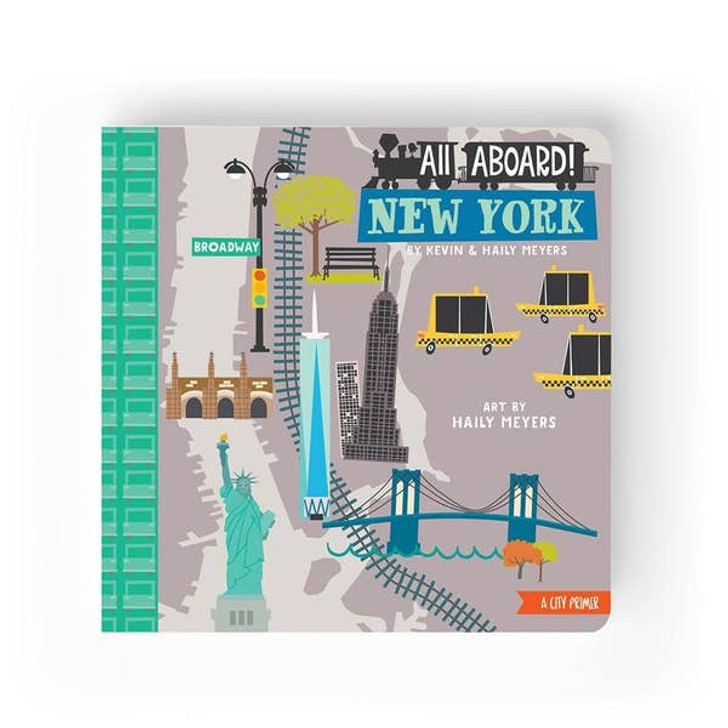 All Aboard New York | A Landscape Primer Book | Lucy Darling