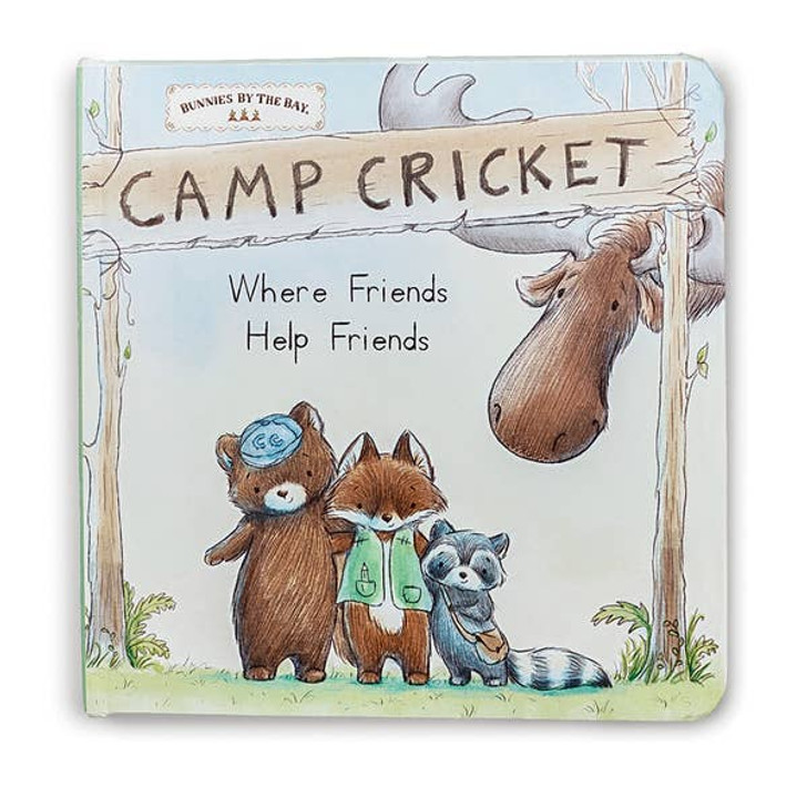 Camp Cricket Board Book   Bunnies by the Bay