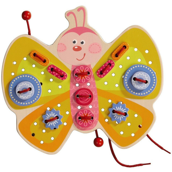 Butterfly Threading Game | Haba
