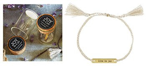 Live In Joy Bracelet