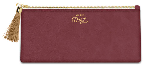 """""""All the Things"""" Pencil Pouch"""