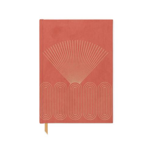 Modern Journal - Bright Terracotta