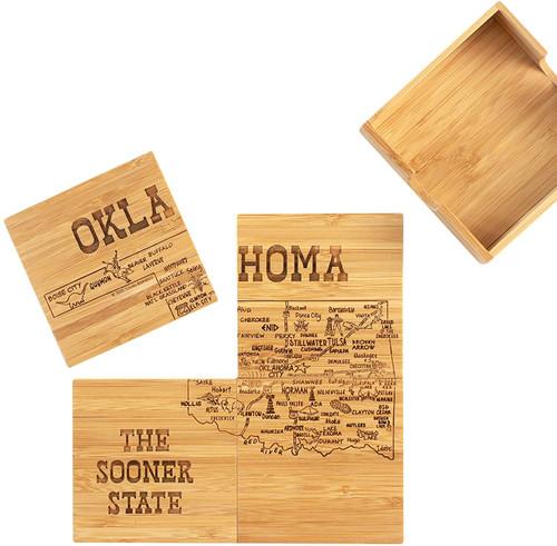 Oklahoma Puzzle Coasters