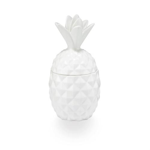 Ceramic Pineapple Candle - Citrus Crush