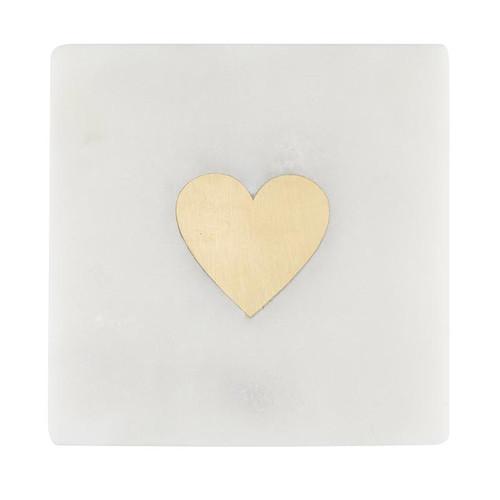 Marble Coasters - Hearts
