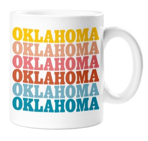 Oklahoma Color Combo Mug