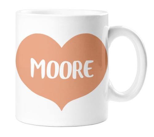 Moore Heart Mug