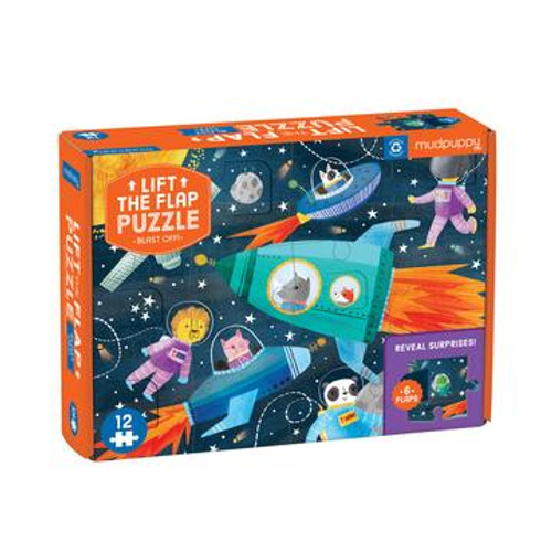 Blast Off Puzzle with Flaps