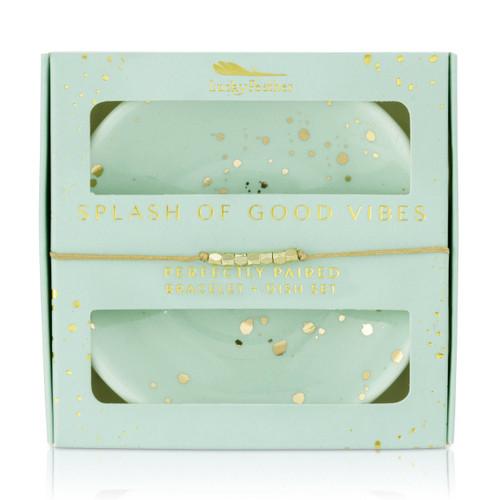 Bracelet + Dish Set - SPLASH
