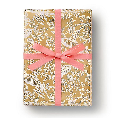 Canopy Gold Wrapping Paper