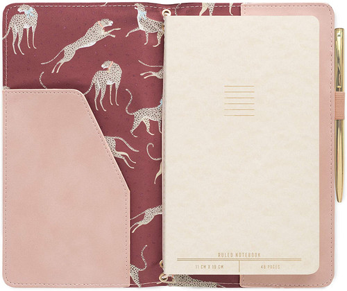 Suede Folio and Planner - Dusty Blush